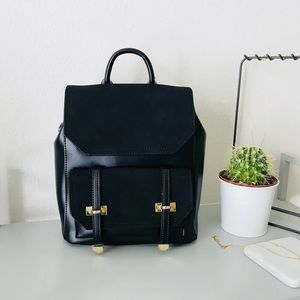 Handbags - Mini Suede Leather Backpack
